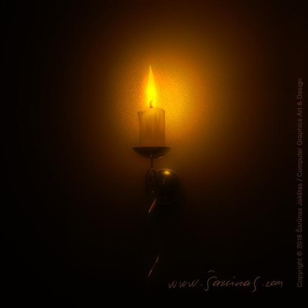 Žvakė  // Candle